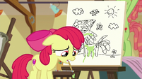 Apple Bloom looking sad S6E4