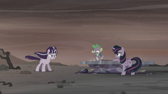 """File:Twilight """"Or rather, the present"""" S5E26.png"""