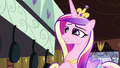 Cadance insincerely calling the apple fritters delicious S2E25.png