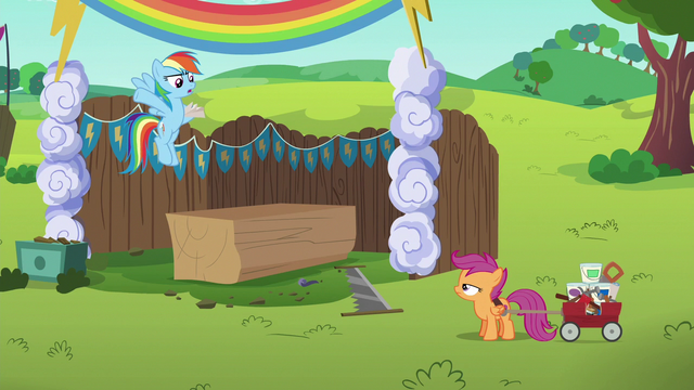 "File:Rainbow Dash ""where have you been?"" S6E14.png"