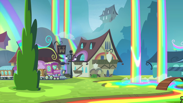 File:Train arriving at Rainbow Falls S4E10.png