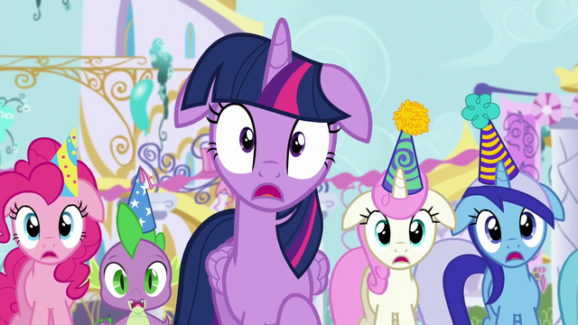 File:Twilight and friends shocked by Moon Dancer's outburst S5E12.png