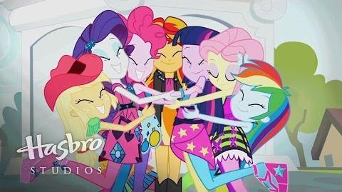 "MLP Equestria Girls - Rainbow Rocks - ""Better Than Ever"" Music Video"