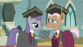 Maud Pie receiving her rocktorate S7E4.png