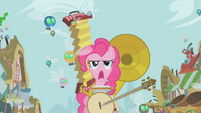 Pinkie Pie attracting parasprites with instruments S1E10
