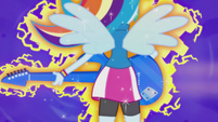 Rainbow Dash sprouting wings EG2