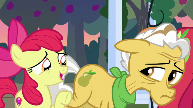 "File:Apple Bloom ""learnin' all about Mom and Dad"" S7E13.png"