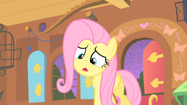 File:Fluttershy filled with strange creature S01E17.png