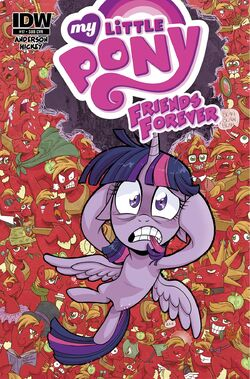 Friends Forever issue 17 sub cover