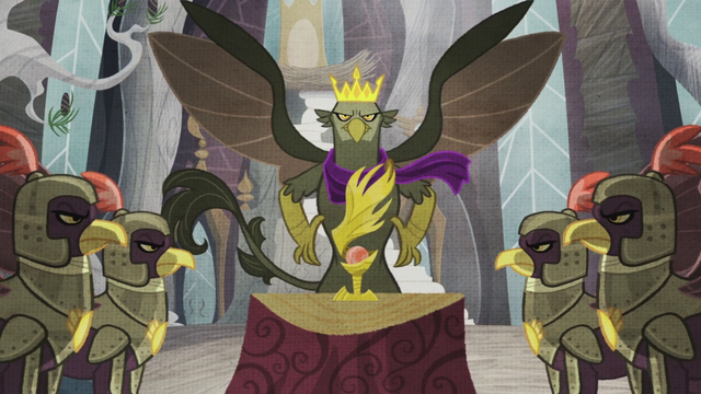 File:King Grover with the Idol of Boreas S5E8.png