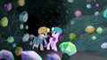 Maud and Starlight enter the gem cave S7E4.png