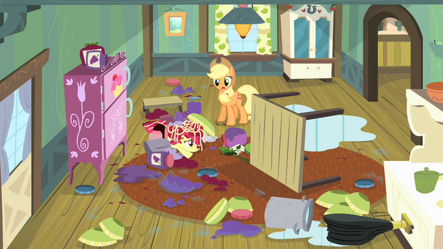 File:Applejack sees the mess S4E17.png