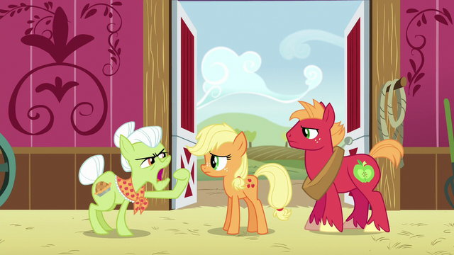 """File:Granny Smith """"stop jabberin' and get to workin'!"""" S6E23.png"""