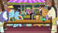 Rainbow and Quibble parting ways S6E13