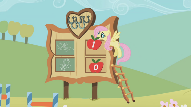File:Fluttershy in charge of the score S1E13.png