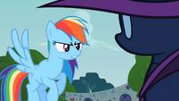 Rainbow Dash you hiding S2E8