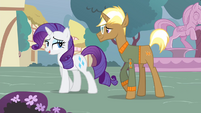 Rarity 'And of course a locally sourced menu of delicious treats' S4E13