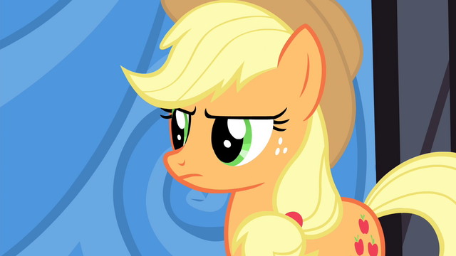 File:Applejack unconvinced S4E20.png