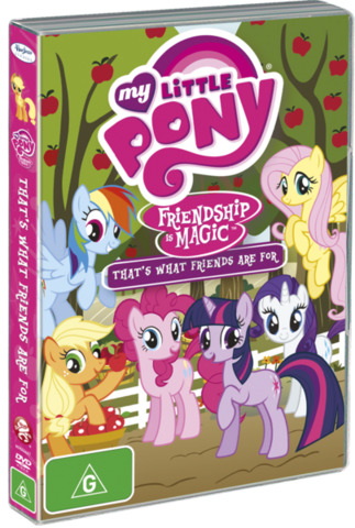 File:Friendship is Magic Region 4 Volume 2.png