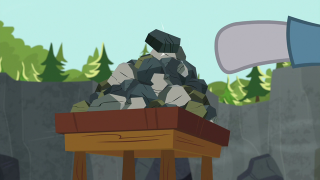 File:Maud Pie adds another rock to her rock pile S7E4.png
