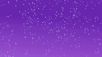 Starry sky over the Everfree Forest S1E02