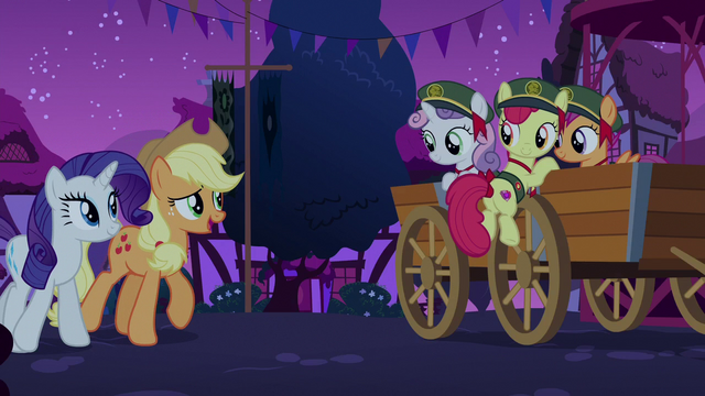 "File:Applejack ""you three should be real proud"" S6E15.png"