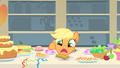 Applejack doesn't know what to eat first 3 S01E22.png