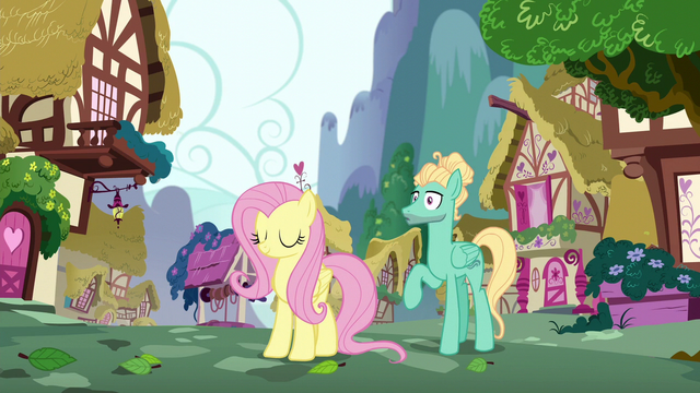File:Fluttershy and Zephyr hear a whooshing sound S6E11.png