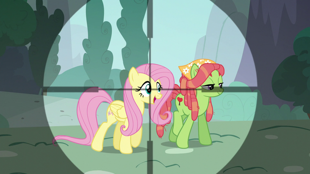 File:Fluttershy in Discord's crosshairs S5E7.png