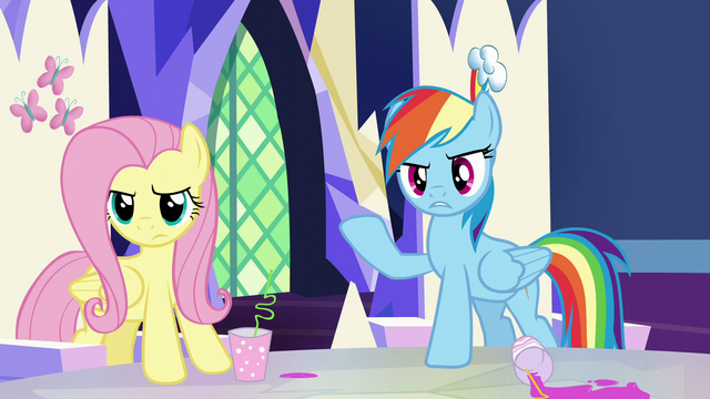 "File:Rainbow Dash ""what do you take us for?"" S5E22.png"