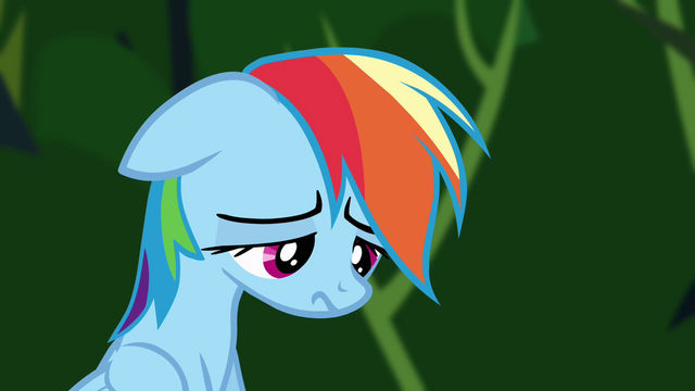 File:Rainbow Dash dejected S4E04.png