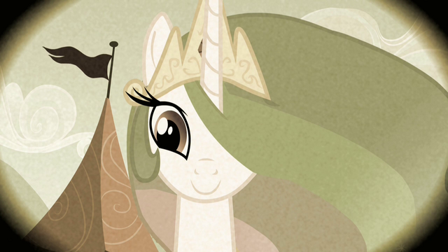 File:Smiling Princess Celestia S2E12.png