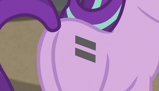 File:Starlight Glimmer equal sign cutie mark close-up S5E1.png