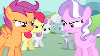 CMC stare down Tiara and Spoon S4E05