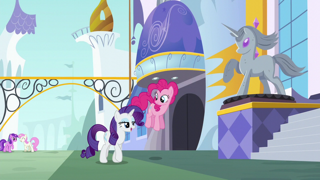 """File:Rarity """"as far as finding a friendship problem"""" S6E12.png"""