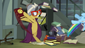 A.K. Yearling pulls book out from under Rainbow Dash S4E04.png