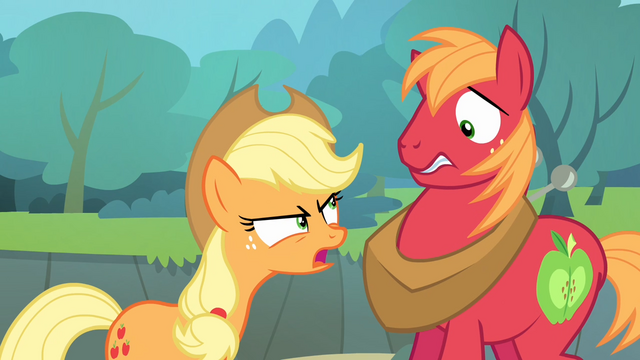 File:Applejack angry at Big McIntosh S4E09.png