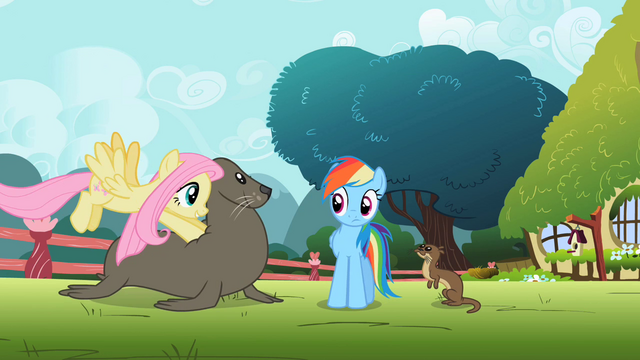 File:Fluttershy pushing seal S2E07.png