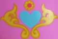 Princess Cadance toy cutie mark crop