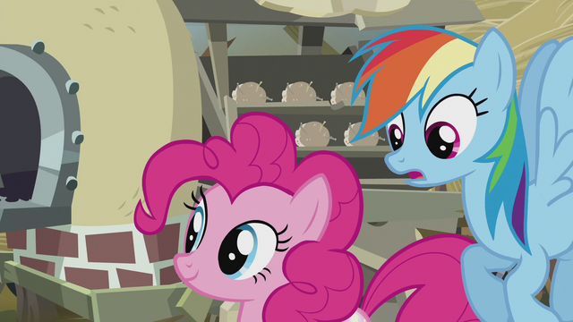 File:Rainbow notices Pinkie's cutie mark S5E8.png