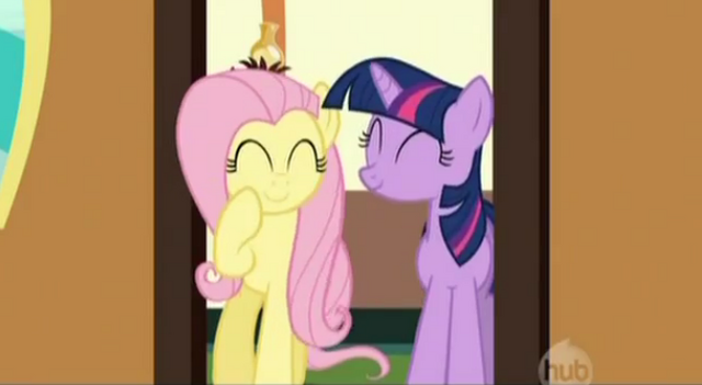 File:Fluttershy giggling S02E14.png
