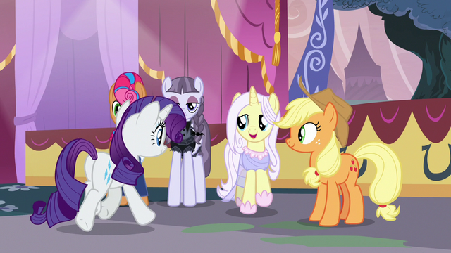 """File:Lily Lace """"you can thank Applejack"""" S7E9.png"""