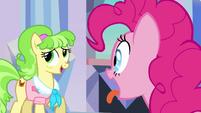 Ms. Peachbottom feeling awkward S03E12