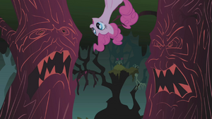 Pinkie Pie singing Everfree Forest 3 S1E02.png