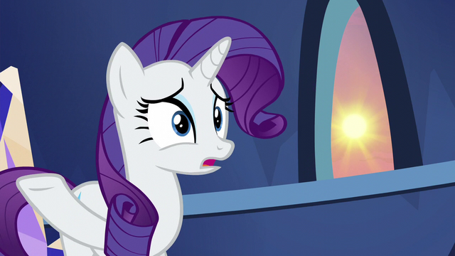 """File:Rarity """"we didn't lift a hoof to help her!"""" S5E3.png"""