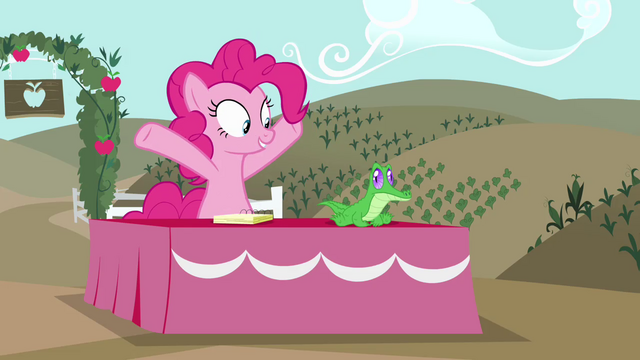 """File:Pinkie Pie """"it's exciting!"""" S4E03.png"""