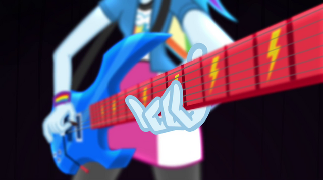 File:Rainbow Dash playing guitar at an angle EG2.png