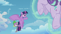 Twilight about to say something S5E25