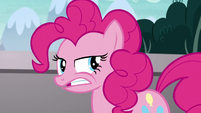 Pinkie Pie muttering under her breath S5E19