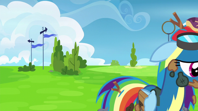 File:Rainbow Dash walks away in shame S6E7.png